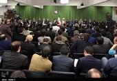 دیدار جمعی از شاعران مذهبی در آستانه شهادت حضرت فاطمه زهرا (س)