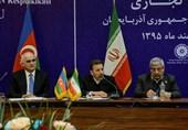 خط آهن آستارای ایران و آستارای آذربایجان سال 96 به بهره برداری میرسد