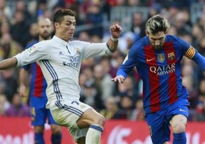 مسی رونالدو بارسلونا رئال