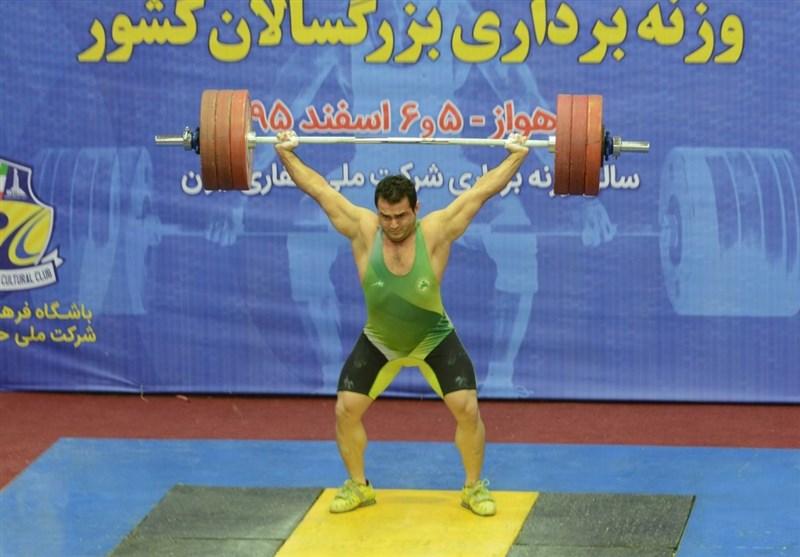 Zob Ahan Crowned Iran Weightlifting League Champion