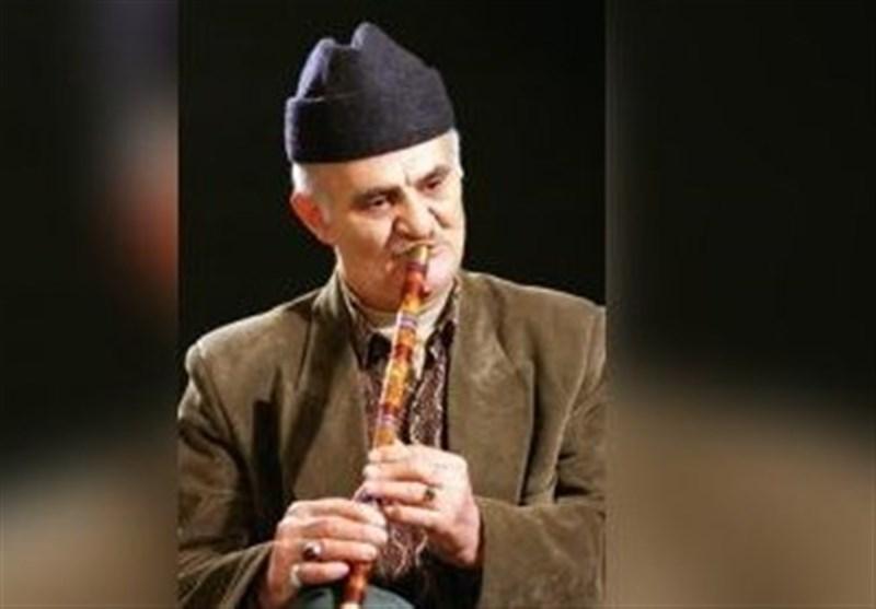 پیکر نوانده بزرگ موسیقی بومی استان مازندران تشییع شد