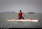 قایقرانی آبهای آرام زیر 23 سال و جوانان جهان  رضایی در رده ششم ایستاد