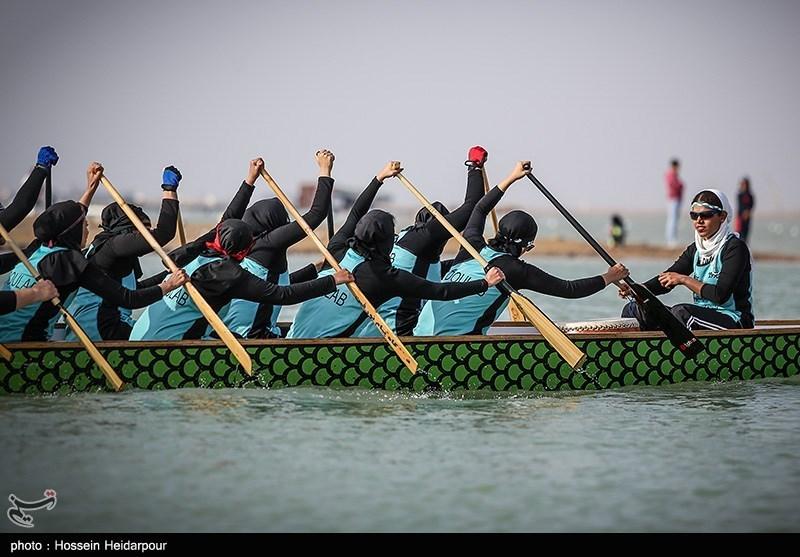 مسابقات بین المللی قایقرانی در بوشهر