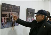 """نمایشگاه عکس """"ارومیه پایتخت والیبال"""" مورد توجه دولتمردان"""