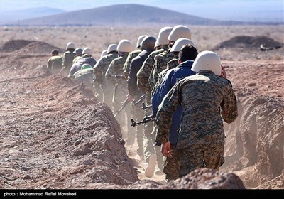 Iranian Armed Forces Practice Urban Warfare Drills