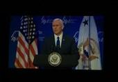 مایک پنس: توان موشکی ایران، تهدیدی جدی است