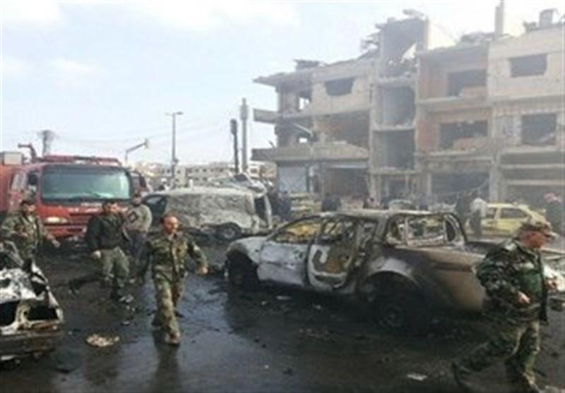 30 قتیلا بهجوم نفّذه 6 انتحاریین على مرکزین أمنیین فی حمص السوریة