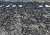 عکس/پارکینگ دوچرخه دانشجویان در یکی از دانشگاههای چین