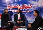 بازدید جانشین سپاه ثارالله از غرفه تسنیم در نمایشگاه مطبوعات کرمان