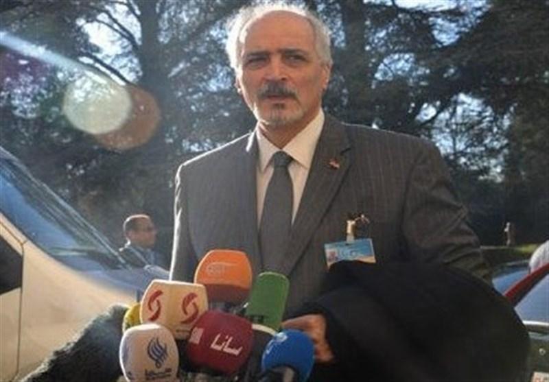 الجعفری: التفجیرات الإرهابیة فی حمص رسالة الى جنیف من رعاة الإرهاب