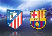 اتلتیکو مادرید - بارسلونا؛ صخره مادریدی در خوان هشتم کاتالونیاییها