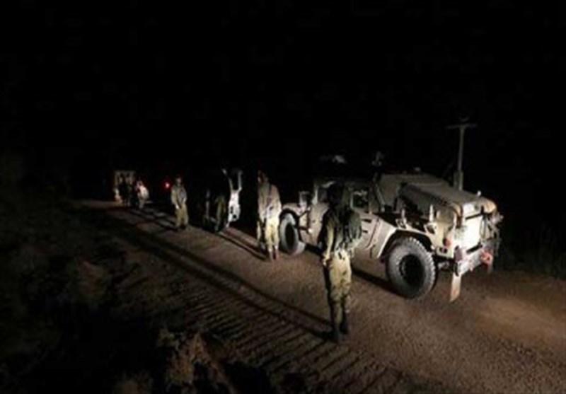 جاسوسی شبانه نیروهای اسرائیلی در خاک سوریه + فیلم