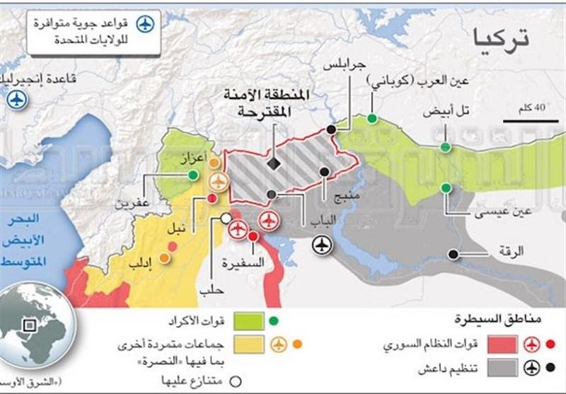 موانع و چالشهای ایجاد منطقه امن آمریکا در سوریه