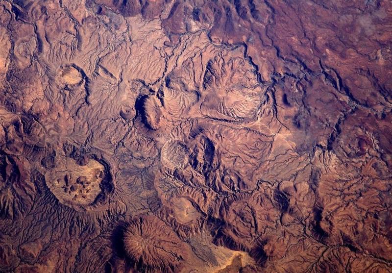 عکس فضایی از چاد که شبیه مریخ است!
