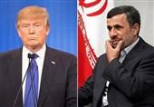 Ahmedinejad Trump'a Mektup Yazdı