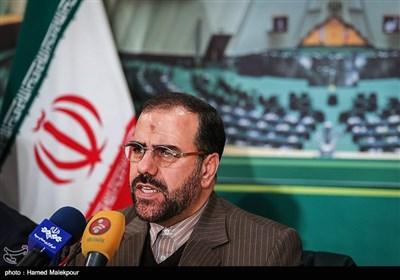 نشست خبری حسینعلی امیری معاون پارلمانی رئیس جمهور در مجلس شورای اسلامی