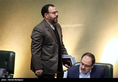 حسینعلی امیری معاون پارلمانی رئیس جمهور در جلسه علنی مجلس شورای اسلامی