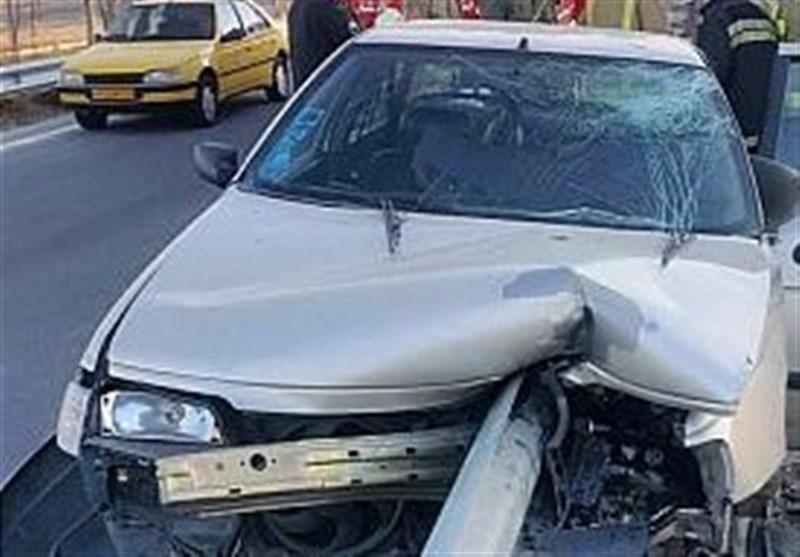 وقتی «راننده پژو» با ورود «گاردریل» به داخل خودرو به صندلی عقب پرتاب شد + تصاویر