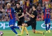 ترکیب تیمهای بارسلونا و اتلتیکومادرید اعلام شد/ آلبا جای خود را به متئو داد