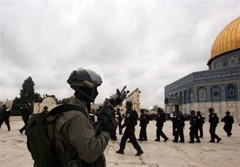 یورش 131 شهرکنشین صهیونیست به مسجدالاقصی