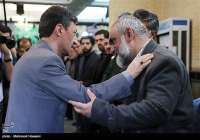مراسم ختم والده سردار نقدی
