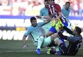 بارسلونا با برتری در بازی بزرگ موقتاً صدرنشین شد