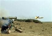 لحظه شلیک و اصابت موشک ضدشناور دهلاویه به هدف دریایی + فیلم و عکس