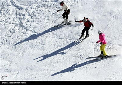 Tarik Dare Ski Resort in Iran's Hamedan