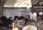 وداع با دو شهید گمنام در یزد