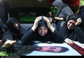 آخرین وداع با پیکر مطهر شهید مدافع حرم«علی اصغر کریمی» +عکس و فیلم