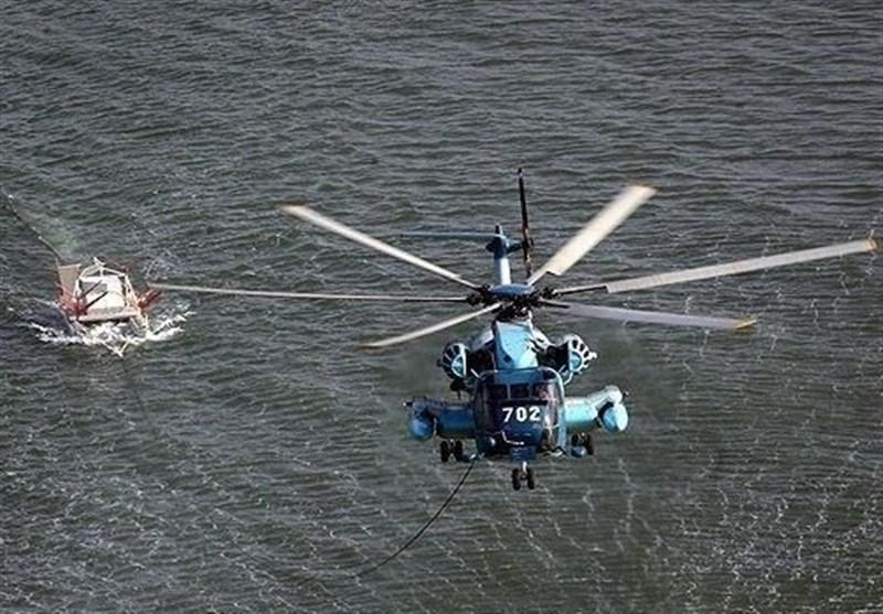 """بالگردهای نداجا عملیات """"مینروبی صوتی و مغناطیسی"""" اجرا کردند"""