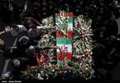 مراسم تشییع و تدفین 2 شهید گمنام در دانشگاه حضرت معصومه(س) قم انجام شد