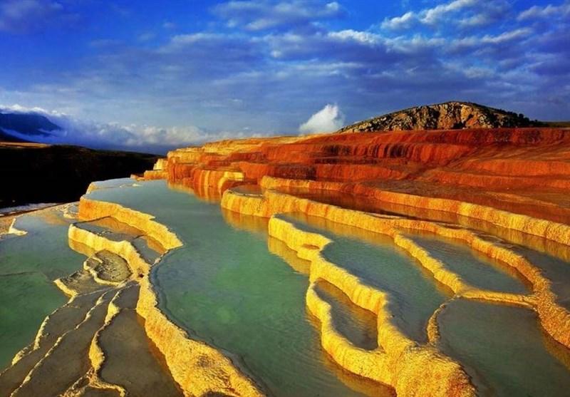 Badab-e Surt: A Step Terraced Hot Spring in Iran