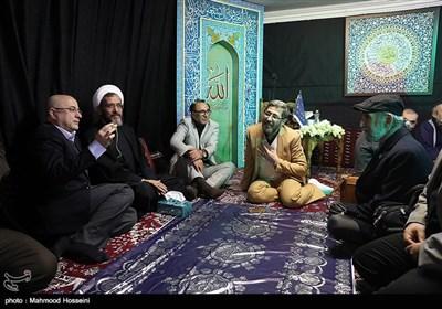 عزاداری شهادت حضرت زهرا (س) در موسسه توسعه هنرهای معاصر و با حضور هنرمندان