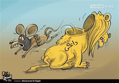 کاریکاتیر.. اماطة اللثام عن وجه داعش