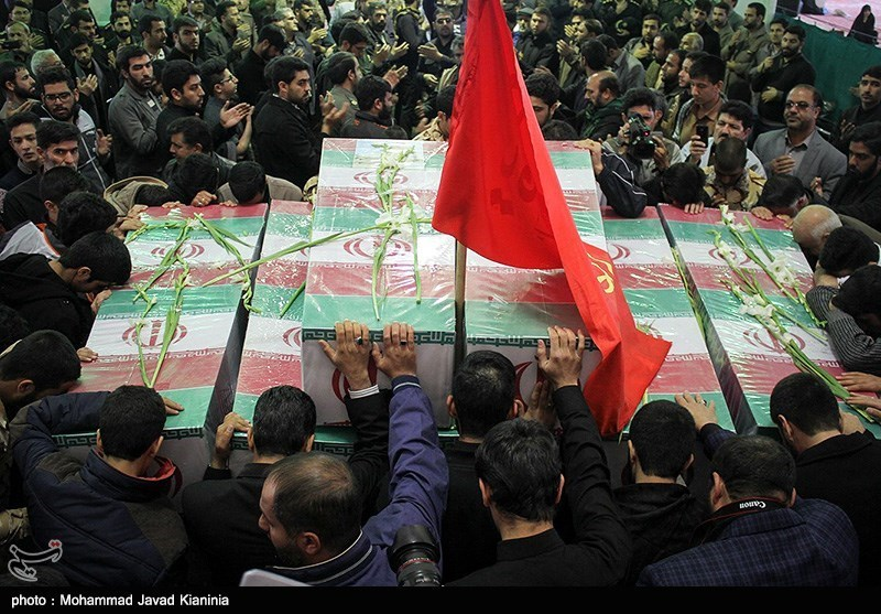 Bodies of Iranian Martyrs Repatriated from Iraq