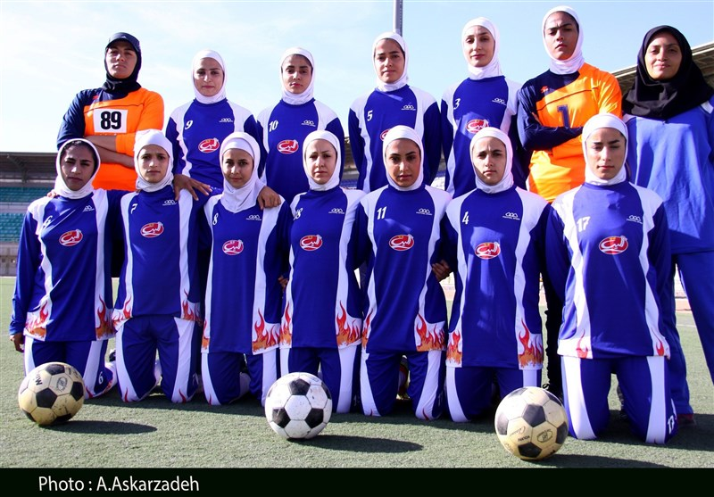 Shahrdari Bam Women Football Team Wins Title