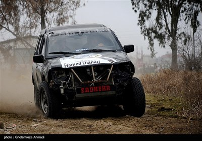 Babolsar Hosts Iran's Off-Road Championship Series