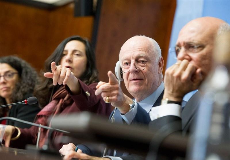 مفاوضات جنیف تستأنف الیوم، ودیمیستورا یؤکد أهمیتها