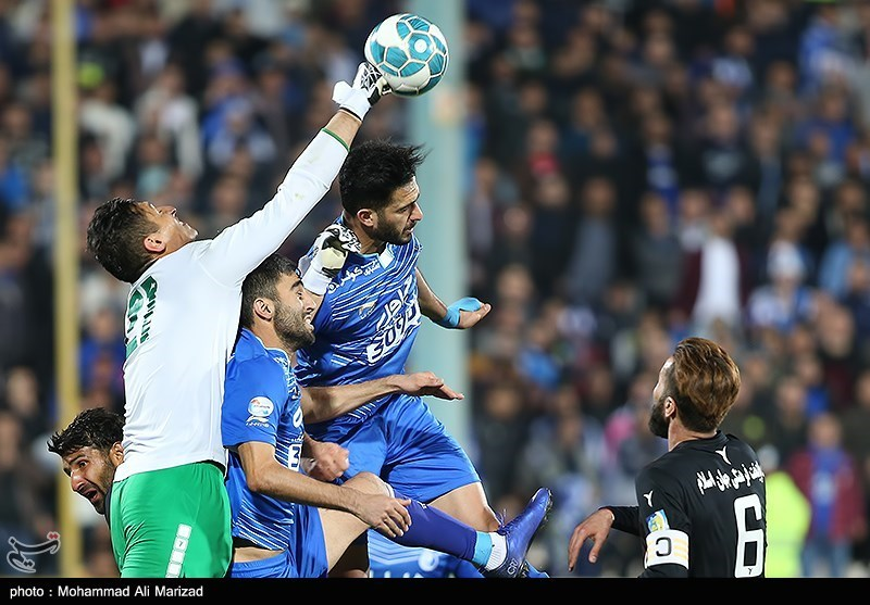 Esteghlal Held by Siahjamegan in Iran Professional League