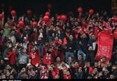 شعار هواداران علیه داور و درگیری بازیکنان تراکتورسازی با ماشینسازی