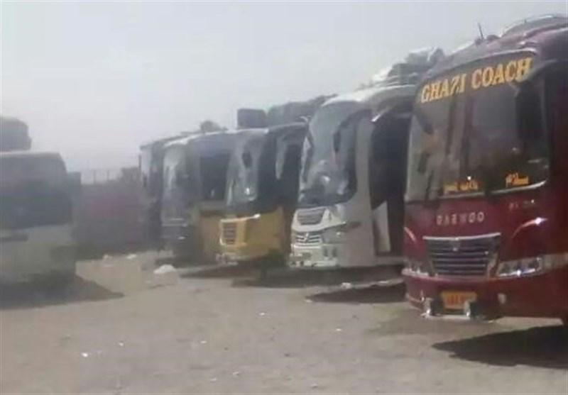 14 سو افراد مشتمل 36 بسوں کو باحفاظت کوئٹہ پہنچا دیا گیا/ باقی ماندہ زائرین سیکورٹی کانوائے کے انتظار میں