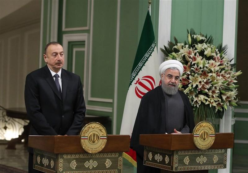 İran Ve Azerbaycan Cumhurbaşkanları Ortak Basın Toplantısı Düzenlediler