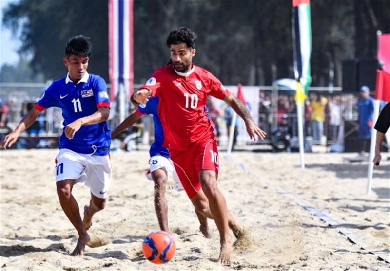Iran Defeats Afghanistan in AFC Beach Soccer Championship