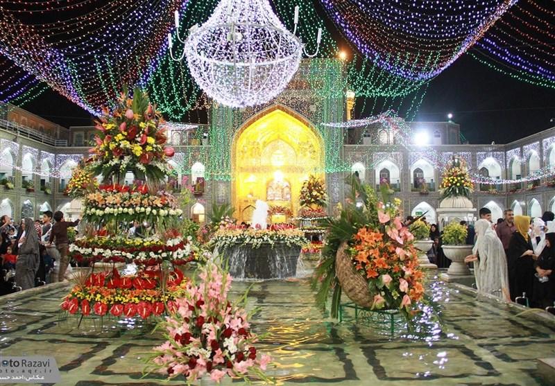 مشهدالرضا سراسر جشن و سرور در عید اهتزاز حقیقت / امشب آسمان سرزمین خورشید هشتم غرق نور است