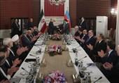 Iran, Azerbaijan Link Indian Ocean to Europe: President Rouhani