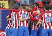 اتلتیکو مادرید مقابل لگانس به پیروزی رسید