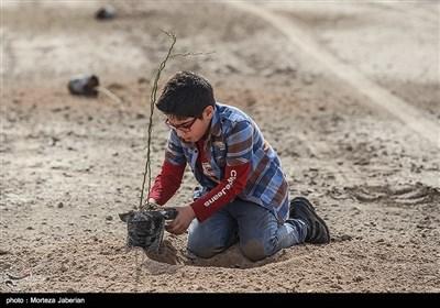مراسم روز درختکاری در اهواز