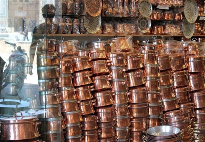 Image result for بازار مسگرهای کرمان