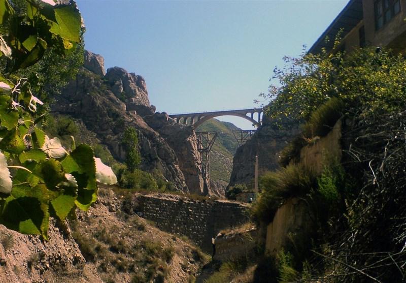 Veresk Bridge: Highest Railway Bridge North of Iran